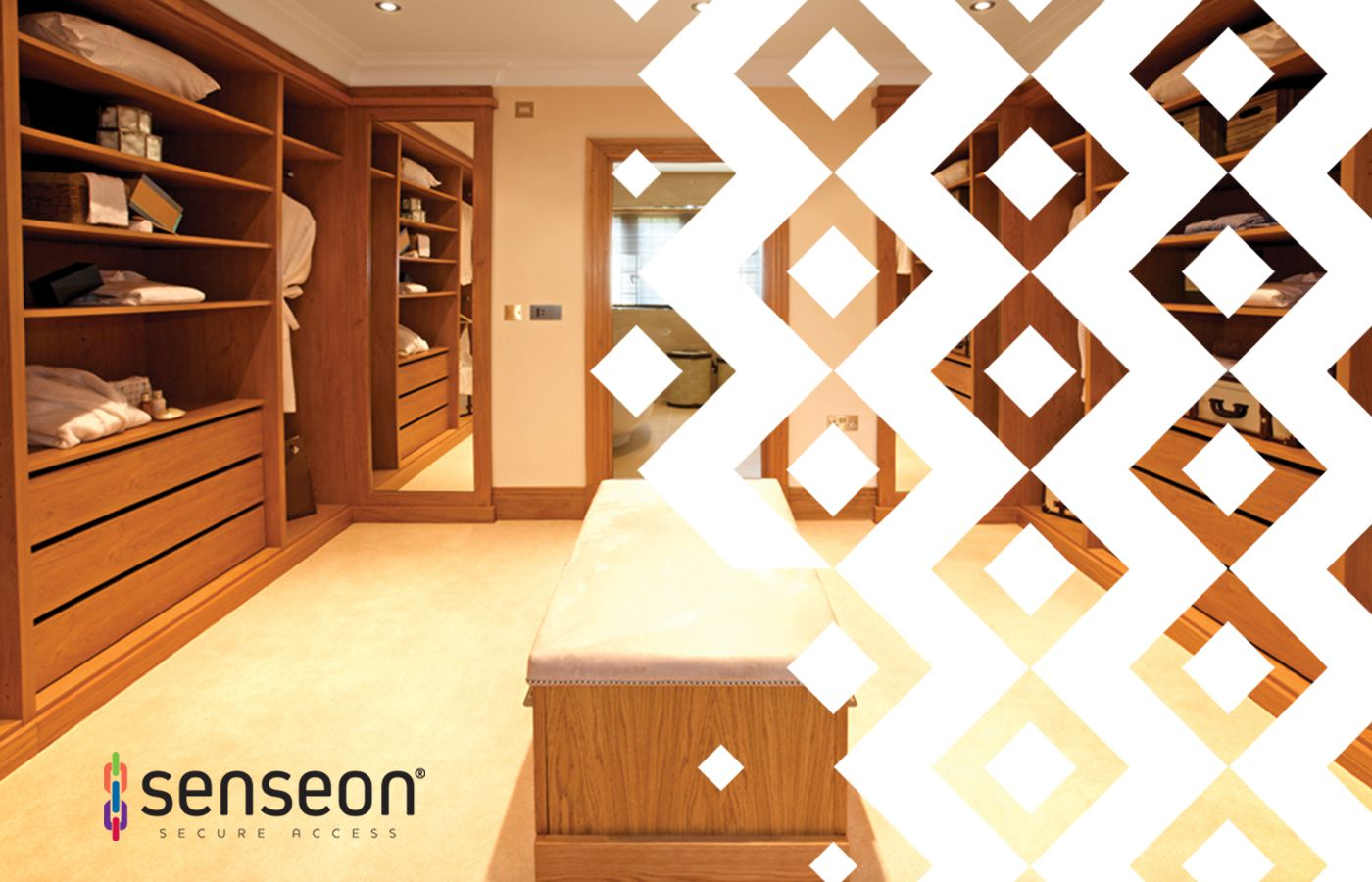 Senseon Electronic Locks for Closets