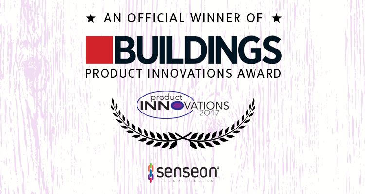 Senseon Buildings Innovation Merit Award Winner