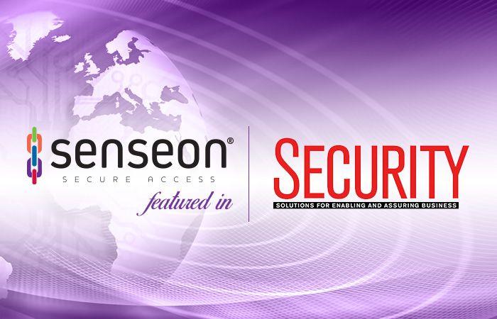 Senseon in Security Magazine