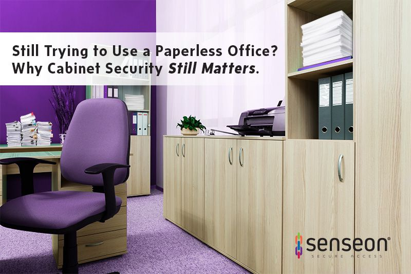 Why Cabinet Security Still Matters in a Paperless Office