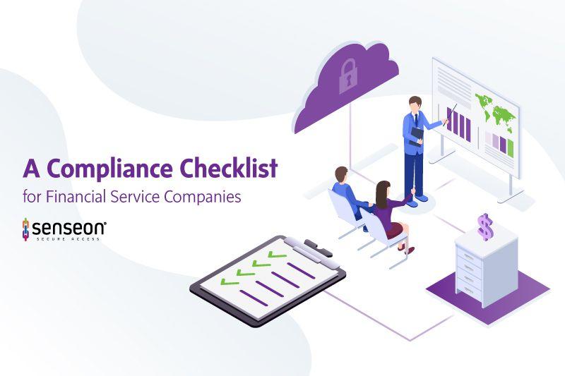 A Compliance Checklist for Financial Service Companies
