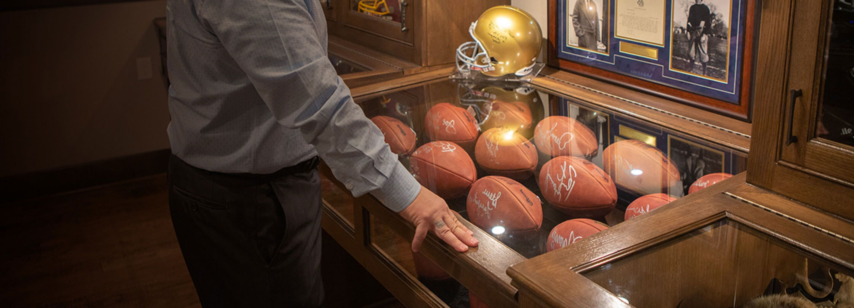 See how one homeowner transformed his rare collection of memorabilia with Senseon's complete access control.