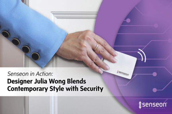 Senseon in action: Designer Julia Wong blends contemporary style with security