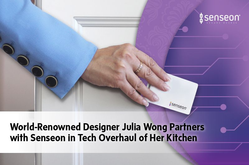 World-Renowned Interior Designer Julia Wong Partners With Senseon In Tech Overhaul of Her Kitchen