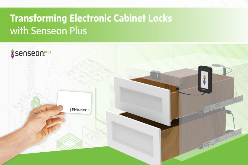 Transforming Electronic Cabinet Locks with Senseon Plus
