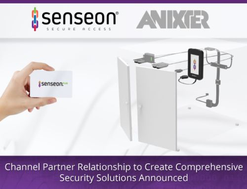 Senseon (a Division of Accuride International) and Anixter International Announce Channel Partner Relationship to Create Comprehensive Security Solutions
