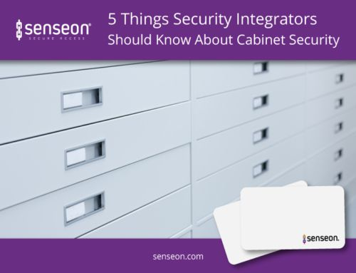 5 Things Security Integrators Should Know About Cabinet Security | Senseon