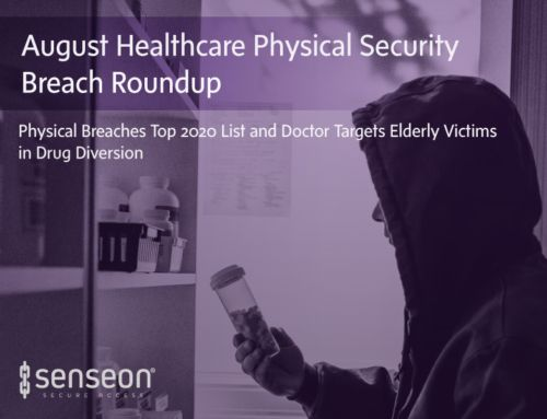 August Healthcare Physical Security Breach Roundup